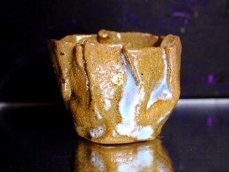 杯 銘『 月白さゆり茶巾1 』の画像