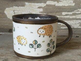 ハリネズミさんのマグカップの画像