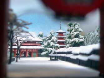 かいまみ 金龍山浅草寺 名所江戸百景 Kaimami Sensojiの画像