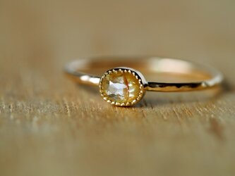 Komorebi Oval Diamond Ringの画像