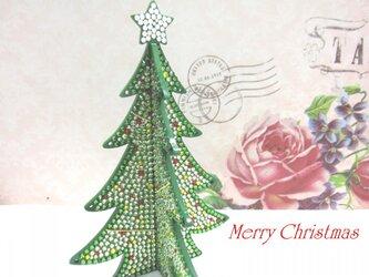 豪華☆スワロフスキーのクリスマスツリー☆の画像