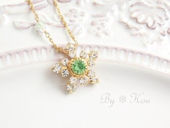 【14kgf】*snow crystal*V.ネックレス。の画像
