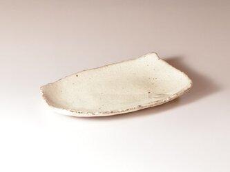 粉引変形皿(淡)の画像