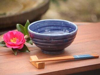 瑠璃釉飯茶碗(大)の画像
