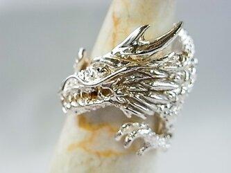 ドラゴンSILVERリングの画像