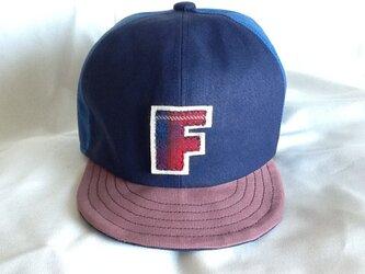 アルファベットキャップ 帆布シリーズ 『F』の画像