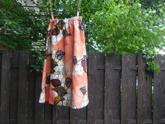 銘仙のギャザースカート 3段切り替えの画像
