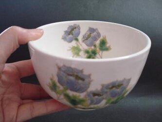 花の器 抹茶碗 アネモネの画像