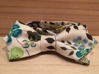 リバティプリント 蝶ネクタイの画像
