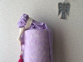 ☆ ダイダイ柄ヨガマットケース ラベンダー Mサイズの画像