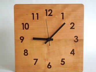 clock54 | world largeBK(チェリー)の画像