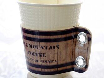 コーヒースリーブ♪樽の画像