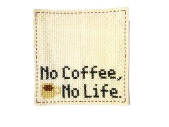 コースター コーヒーの画像