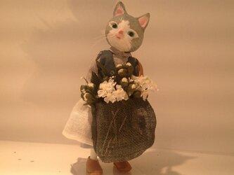 野の花売り(猫族)の画像