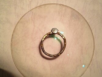 ぺしゃんこ!クラッシュド リング ダイヤモンドの画像