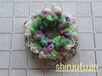 【Sold】お花畑のコサージュ53の画像