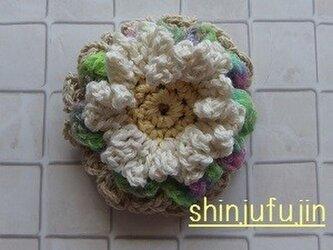 【Sold】お花畑のコサージュ54の画像
