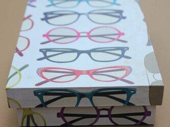 メガネの箱の画像