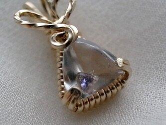 蛍水晶のペンダント・トップの画像