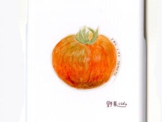iphoneケース 野菜くらぶ。 まんま るトマト iphone6 iphone6s スマホケースの画像