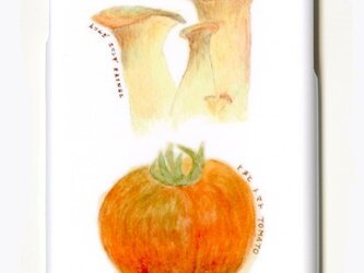 iphoneケース 野菜くらぶ。  今日は洋風リゾット トマトとエリンギ iphone6 iphone6s スマホケースの画像