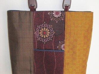 3種類の着物のバッグの画像