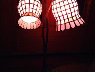 2灯ランプ (yoshiko yano)の画像