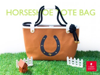 HORSESHOE TOTE BAGの画像