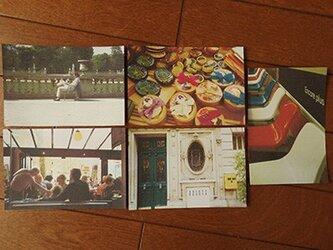 フランスポストカード5枚セット(カラー#2)の画像