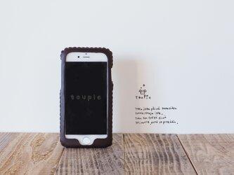 iPhone XR・ iPhone各種レザーケース(こくとう)の画像