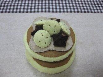 バナナパンケーキの画像