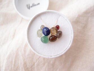 【K10】8チャーム ネックレスセット・onionの画像