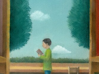 図書館 日和の画像