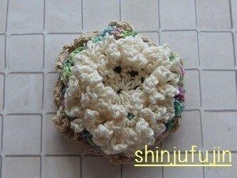 【Sold】お花畑のコサージュ56の画像