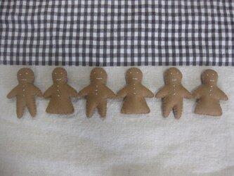 ジンジャーブレッドクッキーの画像