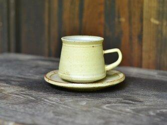 しろカクコーヒーカップ(小)の画像