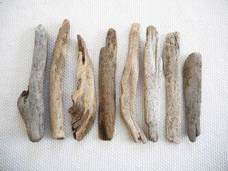 流木素材(セット) 020  [約L13.8~18.5cm]の画像