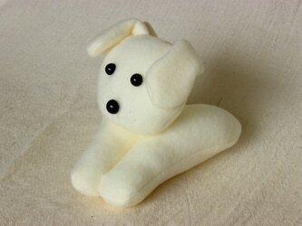 つまむあにまる《犬-白色》の画像