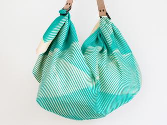 Folded Paper Green & レザーストラップセットの画像
