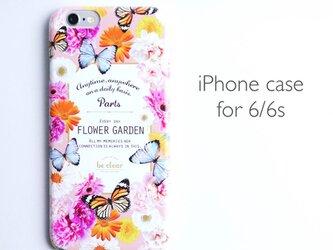 iPhone case for 6/6s 【FLOWER GARDEN】の画像