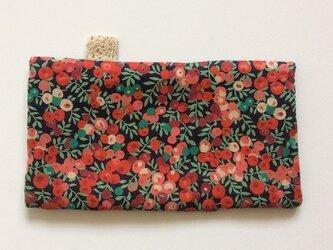 ポケットサイズハンカチ・リバティ ウィルト・シャーー+6重ガーゼの画像