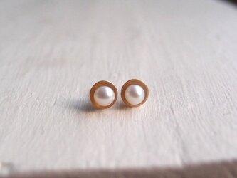 【K14gf】 真珠のピアス … TAROの画像
