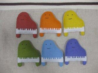ピアノのオーナメントの画像