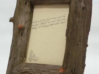 熊野産ヒノキの額縁・葉書きサイズのフォトフレーム(5)の画像