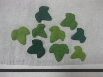 アイビーの葉の画像