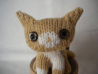 ちまちま猫:おすわりキッピの画像