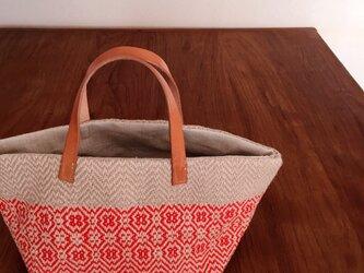 M&W手織りバッグの画像