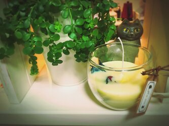 蜜蝋とソイのブレンドキャンドル 200mlの画像