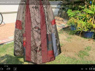 エレガントギャザースカートー6 ー1 再出品 再出品登録ご遠慮願います。の画像
