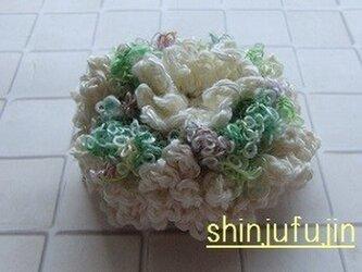 【Sold】お花畑のコサージュ57の画像